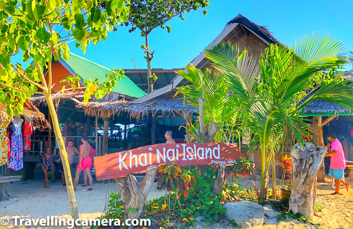 Without going into the details of each Island Cluster and boating options, let me share about what we chose -     1. Speedboat (with fixed itinerary)  2. Phi Phi Don, Phi Phi Leh, Monkey Beach, Khai Nai Island & few more stops on our way.   3. Price - 1000 Baht per person (includes lunch and drinks/water of the boat) - Good negotiation skills help in Thailand & more tips on that in this post below.