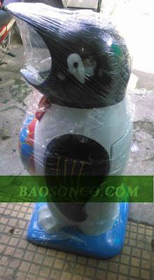 thùng rác con thú