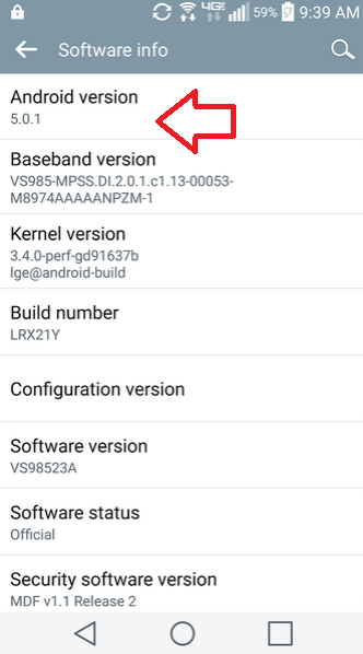 LG G3 for Verizon receives Android 5.0.1 update