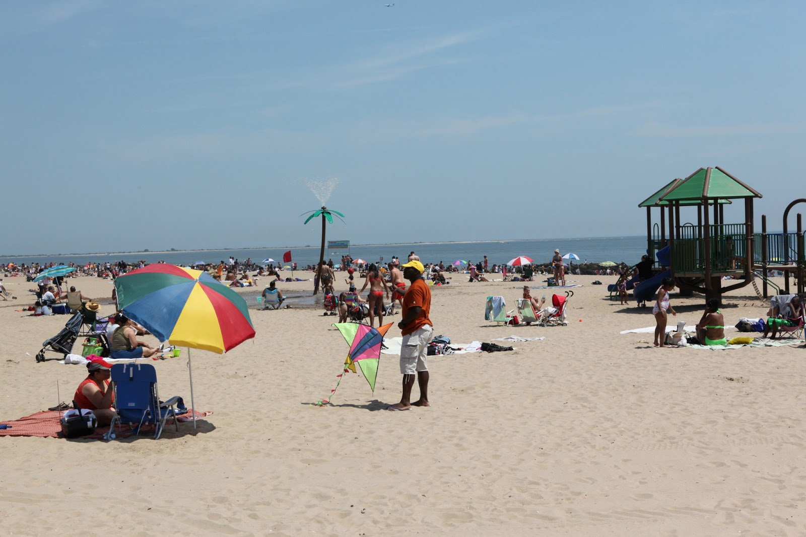 Spiaggia a Coney Island
