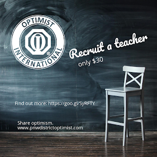 optimist recruit a teacher