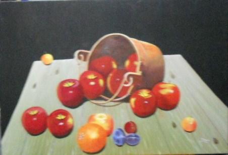 Pintor Jos 233 Mor 243 N Romero Bodegon Cobre Y Frutas