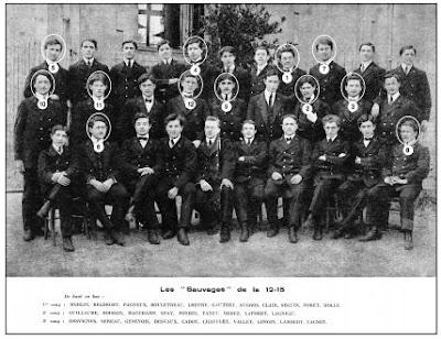 1912/1915 : la Promotion Décimée (12 Morts pour la France sur 30)
