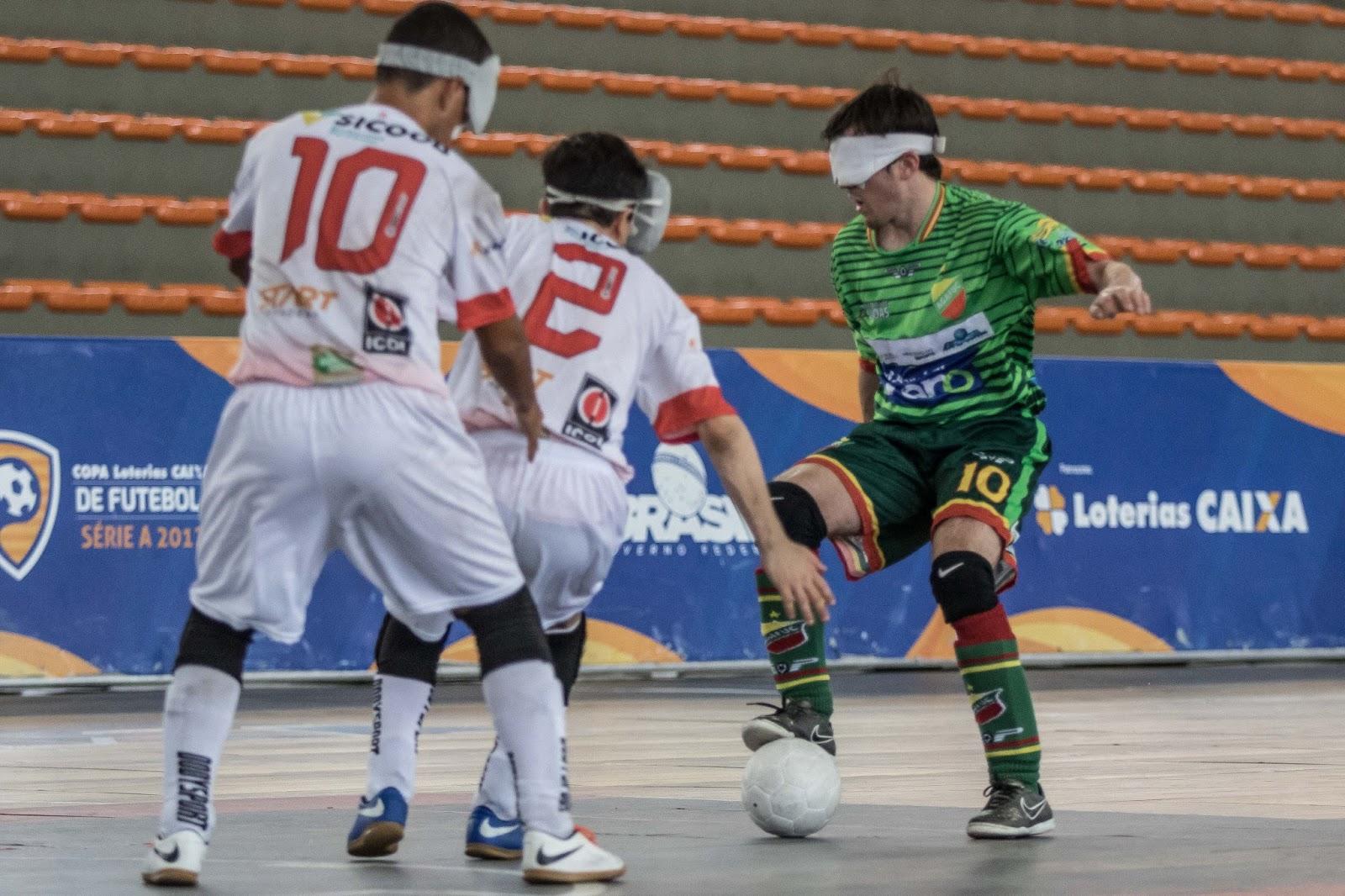O futebol de 5 brasileiro se prepara para momentos inéditos em sua história  nos próximos dois dias. Por meio da parceria entre o Grupo Globo e o Comitê  ... 01e0bf86d23ee