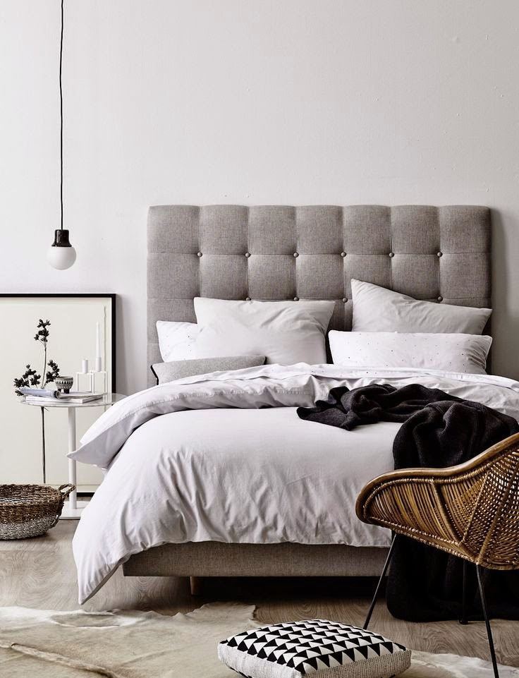 Black tan and white bedroom design ideas how to simplify - White room decor ideas ...