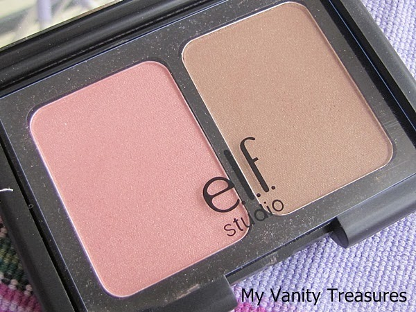 ELF Studio Contouring Blush and Bronzing Powder