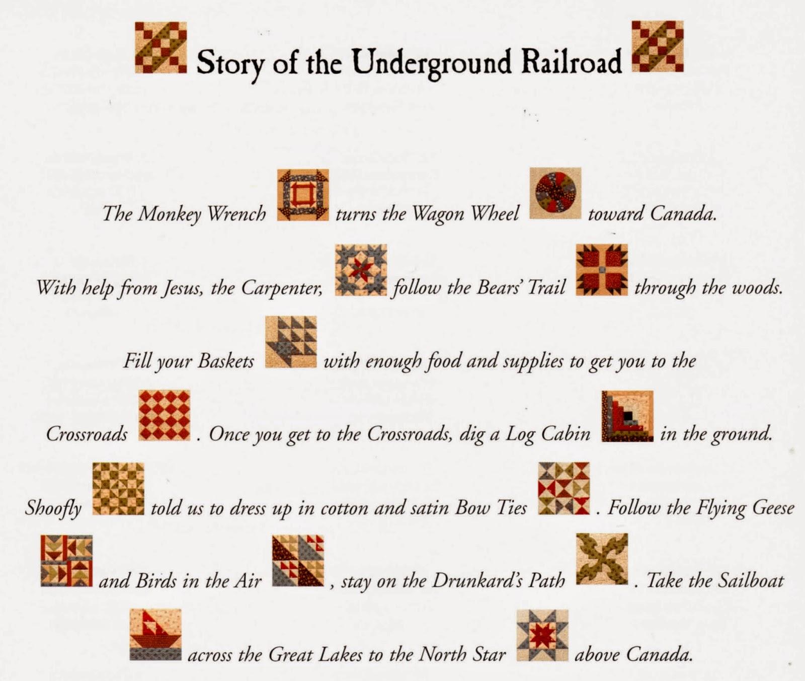 Huggiescrafts Underground Railroad Quilt Blocks 1 To 9