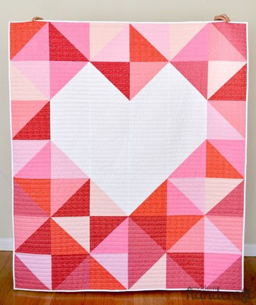 Big Love Quilt Free Tutorial