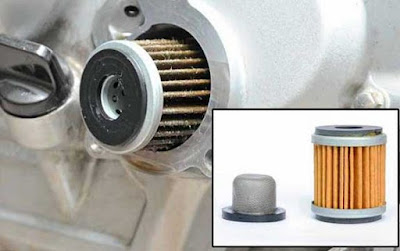 filter oli motor matic