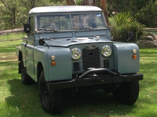 Completely Restored, 1963 Land Rover Series IIA
