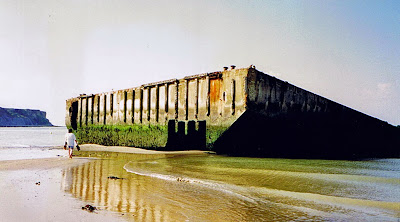 French Village Diaries D-Day Remembered 2014 Normandy France Mulberry Harbour