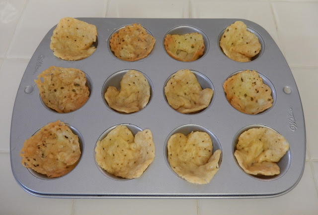 Cheese%2BCracker%2BCups Weight Loss Recipes Party Food: Crunchy Cheese Cups