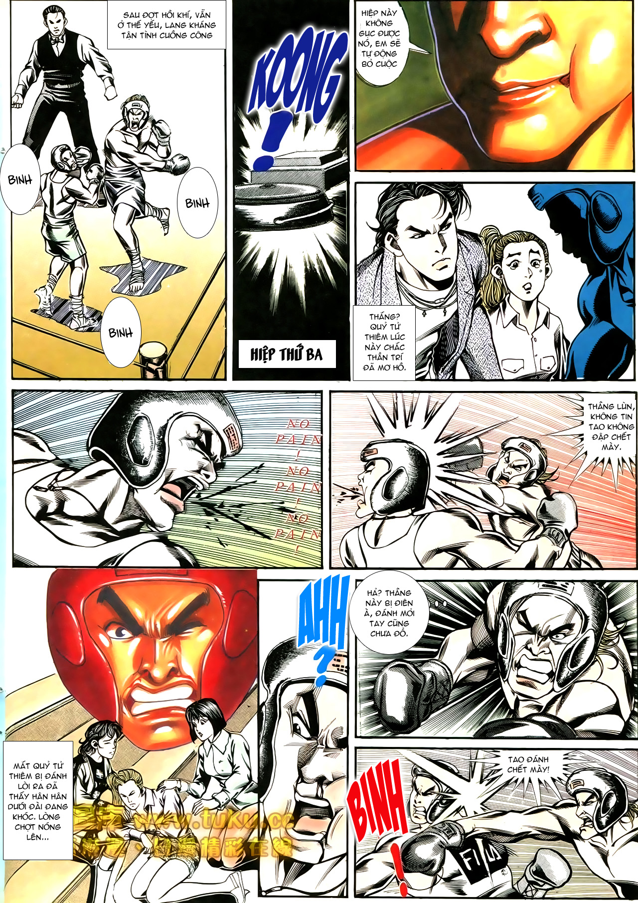 Người Trong Giang Hồ chapter 188: chiến nô trang 23