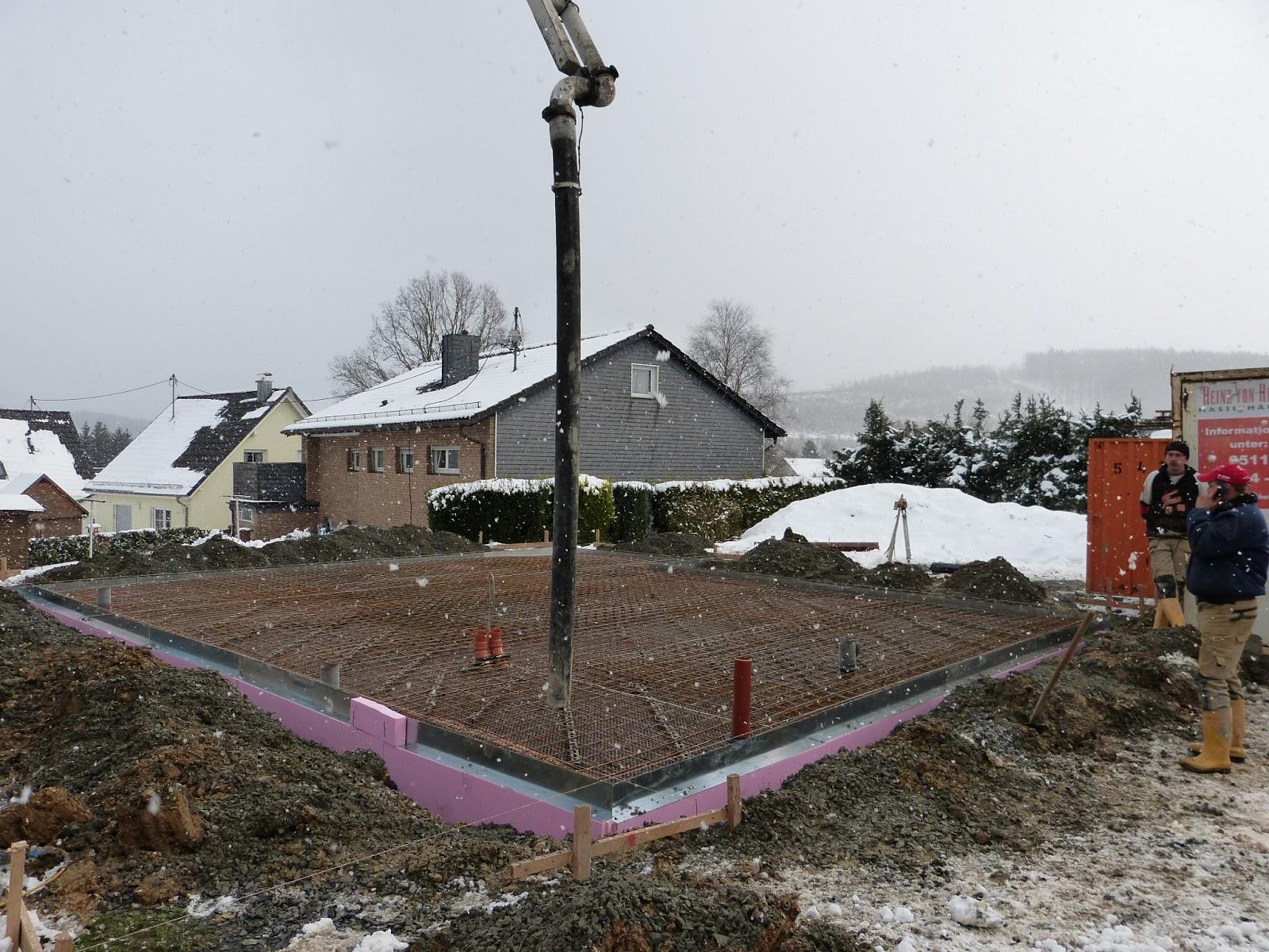 Miriam Und Daniel Bauen Bodenplatte Giessen