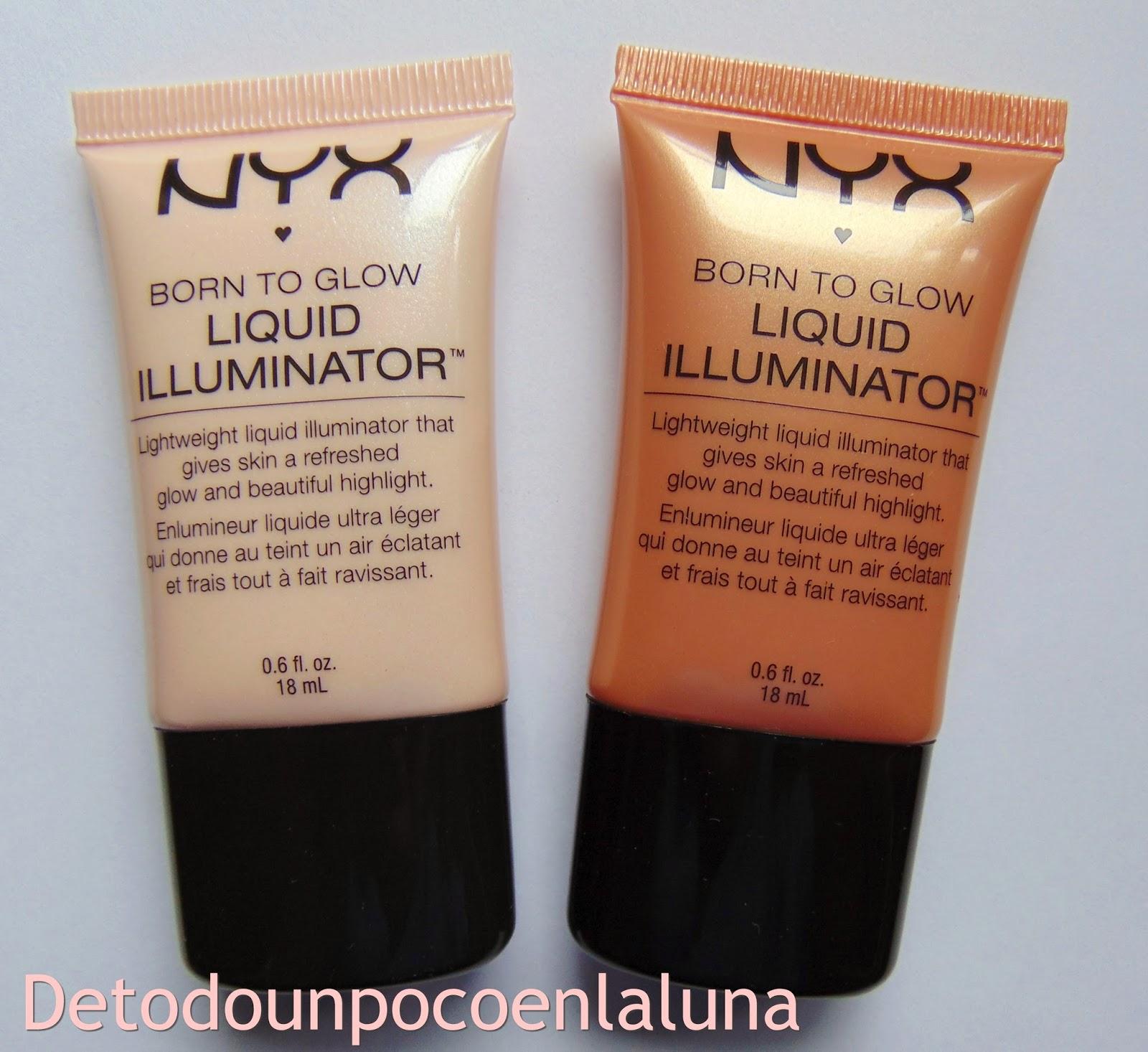 Iluminadores líquidos de NYX