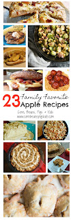 23 Family Favorite Apple Recipes - Breakfast, Snacks, Savory and Sweet #Celebrate365