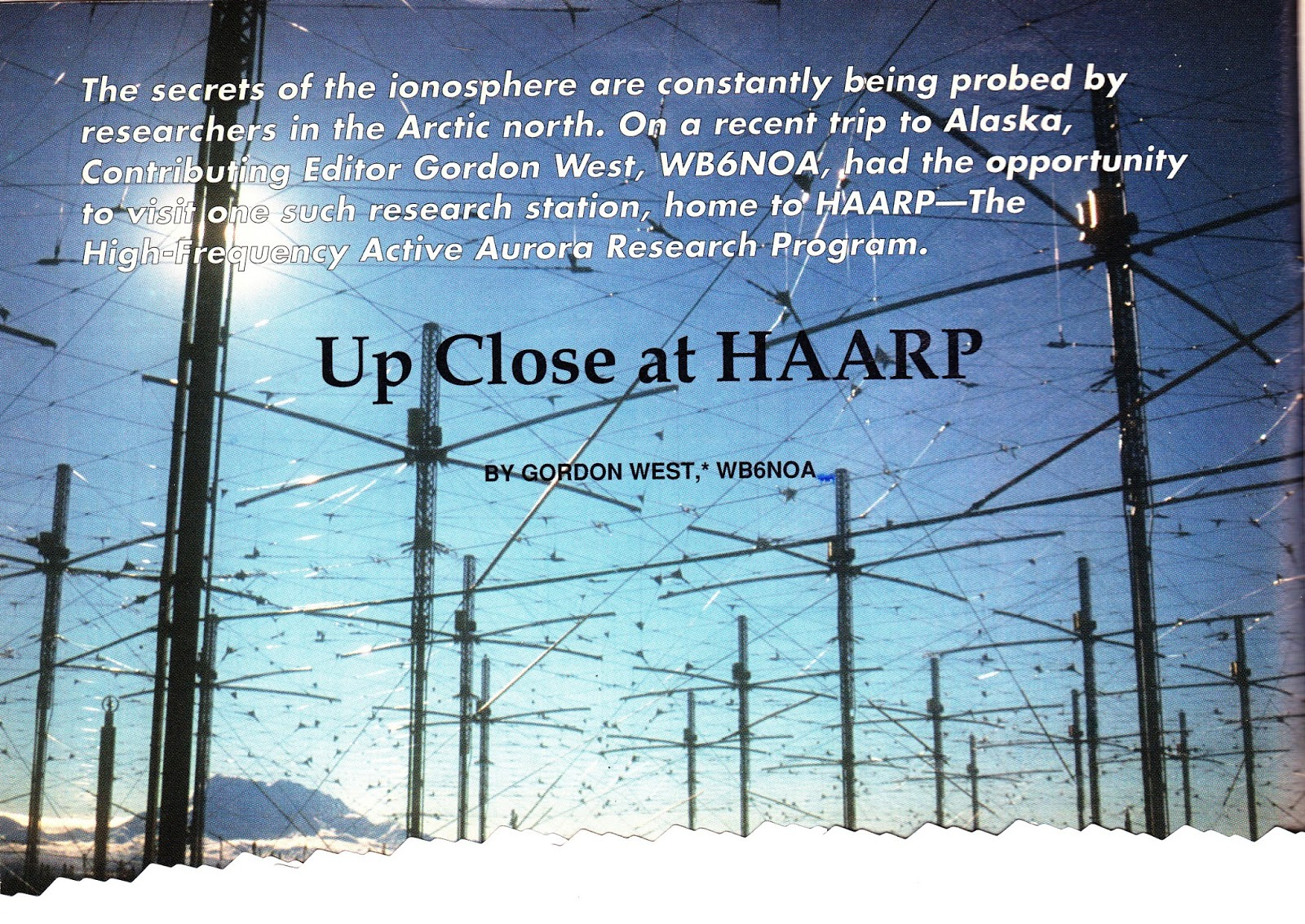 CQ Newsroom: HAARP Uses Classical Music to Probe the ...