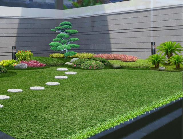 taman di lahan sempit