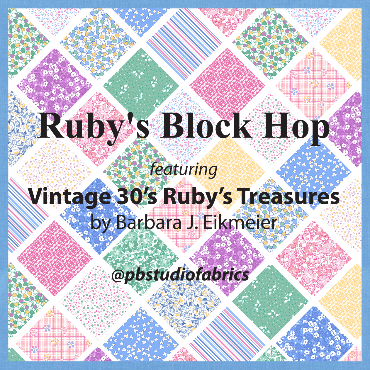 They've chosen blocks from Ruby Short McKim's book, 101 Patchwork Patterns  (download here--this is such a fantastic resource for blocks).