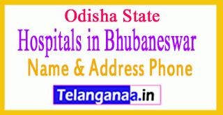 Hospitals in Bhubaneswar Odisha