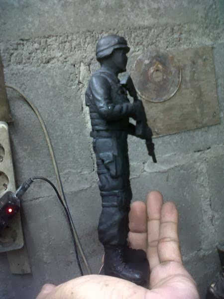 action figure pasukan khusus anti teror