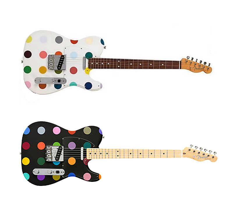 Damien Hirst Keeps Striking A Chord For Charity With His Custom