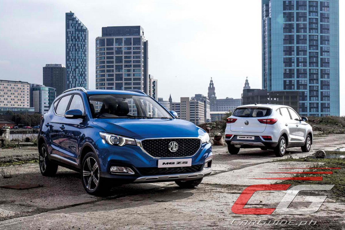 Mg Philippines Launches 2018 Mg Zs Carguide Ph