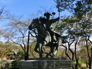 流鏑馬像・富士本宮浅間大社