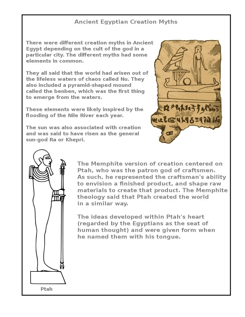 Clubhouse Academy Ancient Egypt Notebooking Pages
