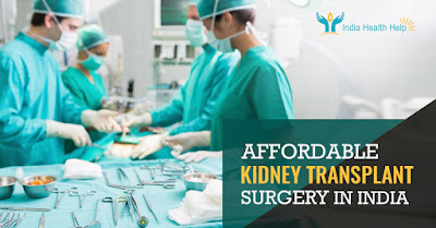 Affordable Medical Treatment Package for Kidney Transplant Surgery in India
