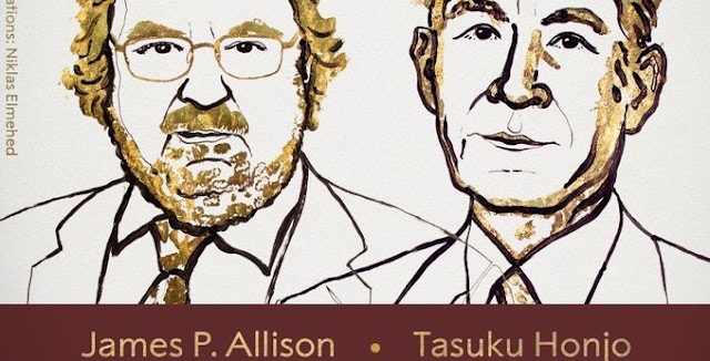 James P. Allison Tasuku Honjo win Nobel Prize 2018 in Medicine for discovery of a cancer therapy