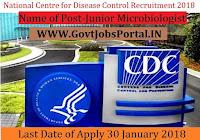National Centre for Disease Control Recruitment 2018– Junior Microbiologist