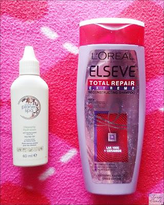 Avon vruće ulje za kosu, Loreal šampon