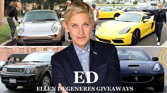 Ellen 500K Sweepstakes Giveaway 2019