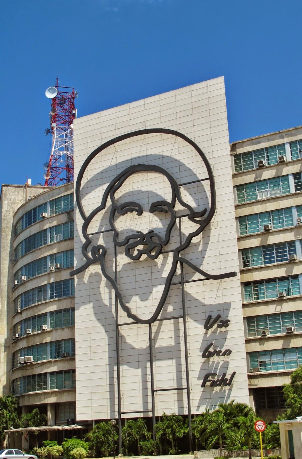 Praça da Revolução, em Havana.