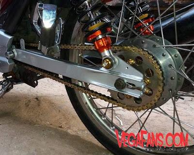 Ganti gear vega zr dengan ukuran kecil