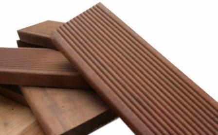 decking kayu ulin alur 1 muka Rp 530.000