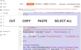 blog ka template menu android se kaise edit kare-step by step ~AaiyeSamje
