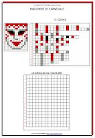 Ciao Bambini Ciao Maestra Carnevale 2019 Maschere Pixel Art