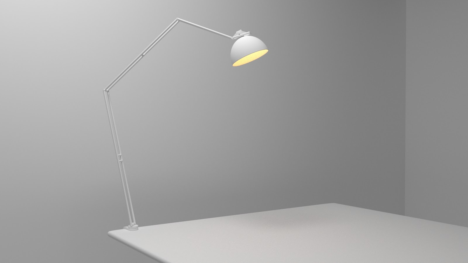 Free 3D Table Lamp .blend file