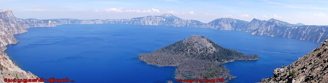 Crater Lake Summer View