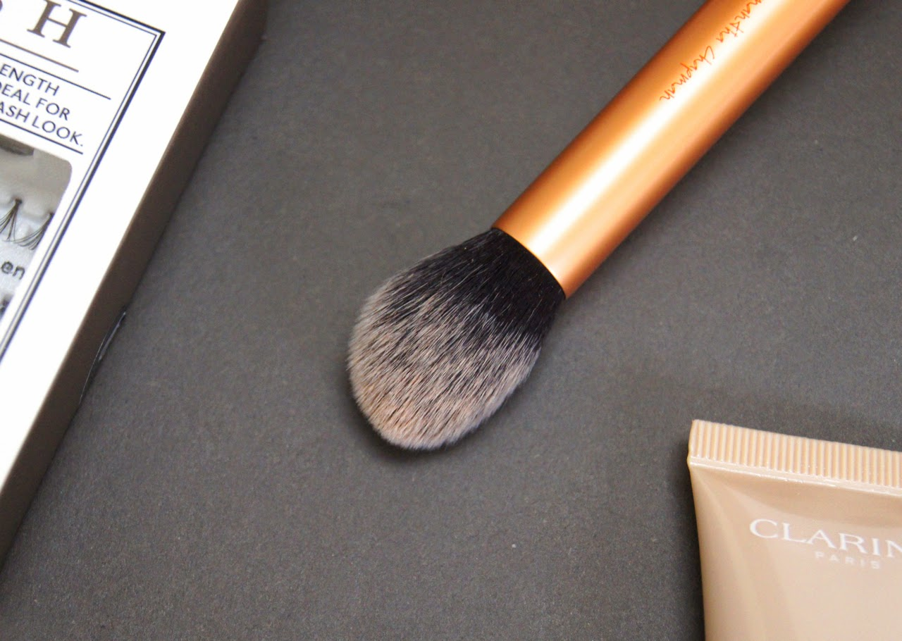 real techniques contour brush review