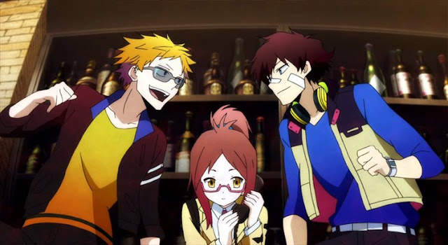 Anime Terbaik Winter 2014 - Hamatora THE ANIMATION