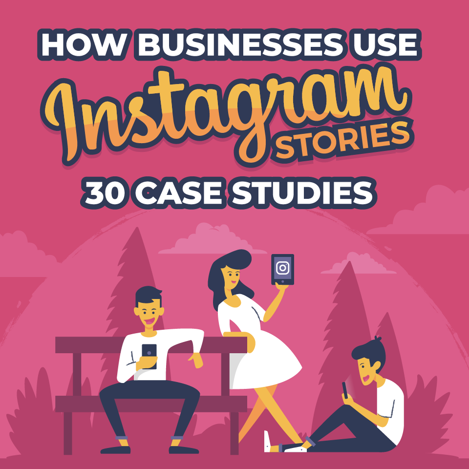 Social Media Optimization - How to Use Instagram Stories to Boost Business (infographic)