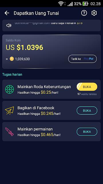 aplikasi penghasil dollar tercepat 2019
