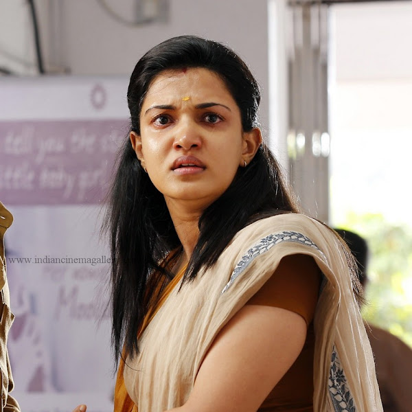 Honey Rose latest hot photos in saree from Kumbasaram movie