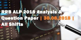 RRB ALP 2018 Analysis & Questions Asked | 30.08.2018 | All Shifts