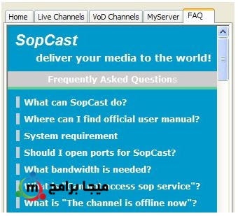 SopCast for Windows