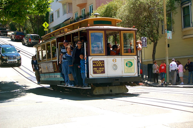 Adventures San Francisco Cable Car World Of Deej