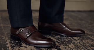 What are the types of Monk Strap Shoes